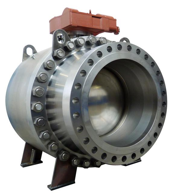 Trunnion-Ball-valve